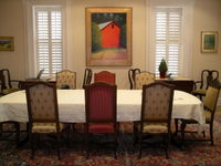 Dining Room, Embassy Circle-Ellen Perlman