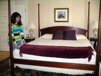 Bedroom, Embassy Circle-Ellen Perlman