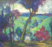 Hugh Breckenridge-The Valley, Gratz Gallery