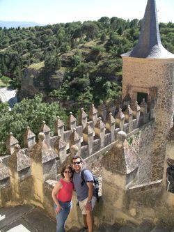 Ellen and Mauricio, Segovia-By Paola