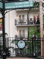 Balcony dining, Opryland Hotel-Ellen Perlman