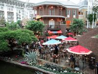 Outdoor Cafe, Opryland Ellen Perlman