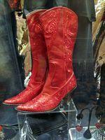 Boots for sale, Opryland-Ellen Perlman
