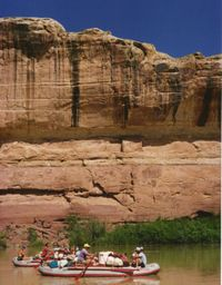 Floating in Canyonlands-Ellen Perlman
