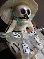 Skeleton with Bacardi-Ellen Perlman