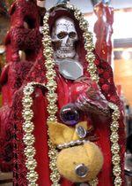 0499-Skeleton in robe-Ellen Perlman