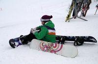 Snowboarder, Park City, Utah-Ellen Perlman