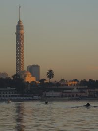 Minaret on Nile, sunrise, Cairo, boldlygosolo blog