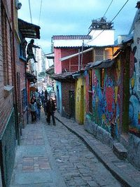 Colorful street, Colombia