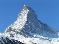 Matterhorn, Zerrmatt, solo skiing