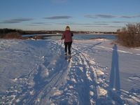Cape Elizabeth, Maine, cross country skiing