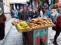 Bread man, Jerusalem, Israel, boldlygosolo.com