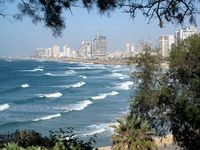 Tel Aviv, view from Jaffa, Israel, boldlygosolo