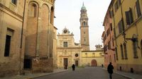 Parma, Italy, boldlygosolo
